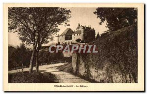 Old Postcard Uriage les Bains Le Chateau