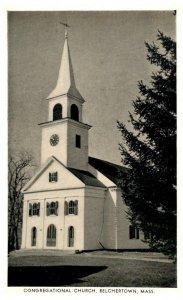 Massachusetts   Belchertown , Congregational Church