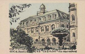 OLD NEW ORLEANS, Louisiana, 1939; The Cabildo, AS; M.H. HOBBS