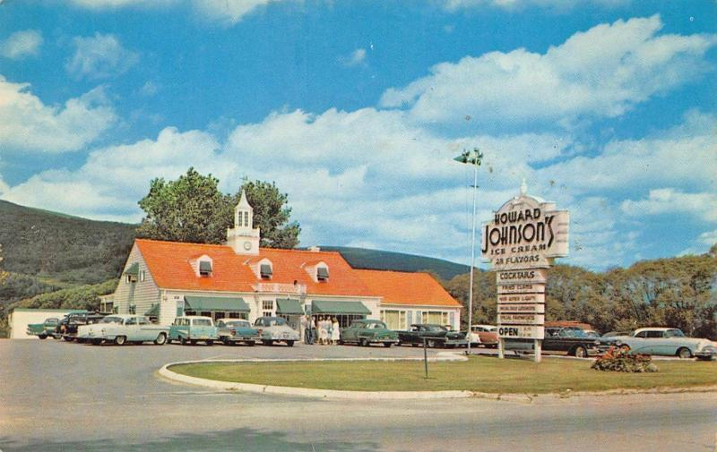 Williamstown Ma Howard Johnson S Drive In Restaurant Old
