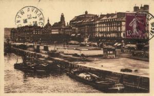 CPA  Rouen .- Le Quai de paris  (153982)