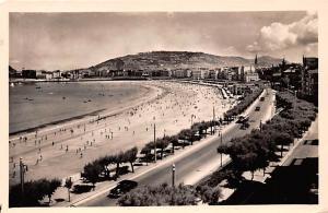 Spain Old Vintage Antique Post Card Vista general desde Miraconcha San Sebast...