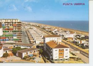 Postal 036913 : Punta Umbria (Huelva). Vista parcial y Oceano Atlantico