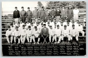 St Petersburg FL~Three Quarter Century Softball Club~Named Player~1957 RPPC