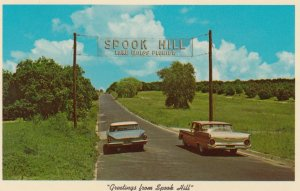 LAKE WALES, Florida, SPOOK HILL, 50-60s