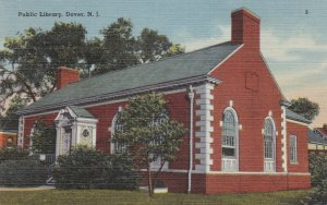DOVER , New Jersey , 1930-40s ; Public Library