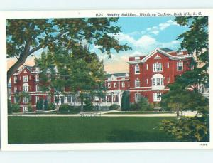 Linen BUILDING AT WINTHROP COLLEGE Rock Hill South Carolina SC L9458