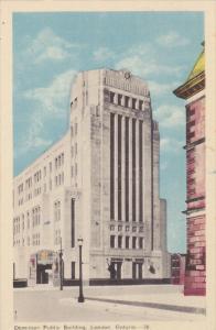LONDON, Ontario, Canada, 1930-1940´s; Dominion Public Building