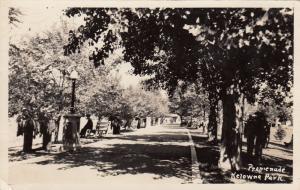 RP, Promenade, Kelowna Park, British Columbia, Canada, 1930-1940s