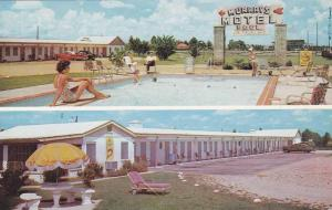 Swimming Pool, Exterior View, Classic Car, Murray´s Motel, Fayetteville, Nor...