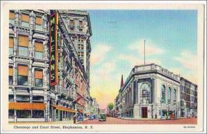 Chenango & Court St, Binghamton NY