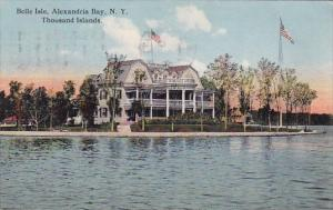 New York City Thousand Island Belle Isle Alexandria Bay 1916