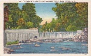 Patterson School Dam On Buffalo Creek Lenoir North Carolina