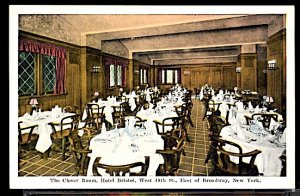 USA The Clover Room Hotel Bristol West 48th Street New York City Interior Scene