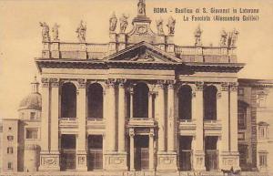 Roma, Basilica di S. Giovanni in Laterano, La Facciata,  Italy, 00-10s