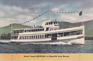 Motor Vessel MOHICAN , Lake George , New York , 30-40s