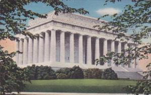 Vista Of Lincoln Memorial Washington DC 1931