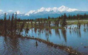 The highest peak of the Alaska Range, Alaska, 40-60s
