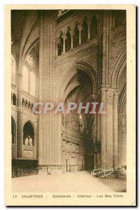 CARTE Postale Old Chartres Cathedrale Interieur The Netherlands Odds