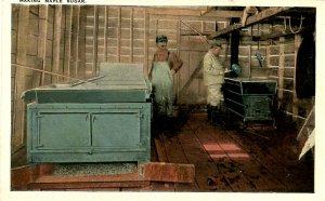 VT - Maple Sugaring. Boiling Sap in Evaporator