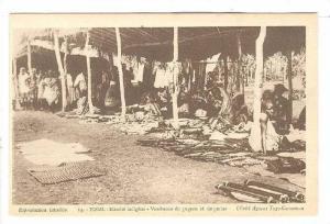 Marche Indigene, Vendeuses pagnes et de perles, Togo, 00-10s