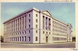 NE WU.S. POST OFFICE LITTLE ROCK, AR 1934