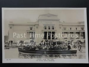 Canada from the Lake RP 1924 - British Empire Exhibition