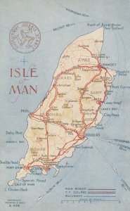 Map ; Isle of Man , UK , 00-10s