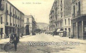 Rue de Lyon Alger Algeria, Africa, Unused