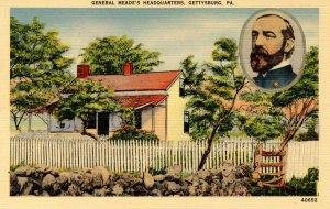 PA - Gettysburg. General Meade's Headquarters
