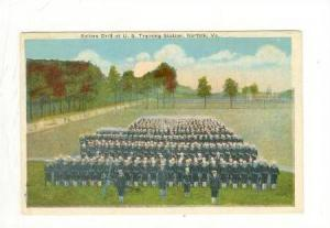 Sailors Drill at U.S. Training Station, Norfolk, Virgina, 00-10s