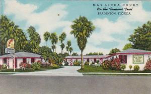 Florida Bradenton May Linda Court Curteich