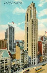 New York City~Bush Terminal Sales Bldg~42nd St BB's~Rainbow Girl~Brown Bros~1914