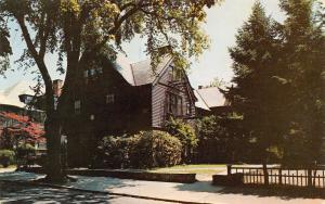 Providence RI~Bryant College of Business Administration~Barber House~1950s PC