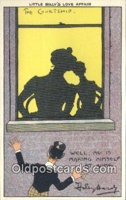Artist Dudley Hardy Silhouette Unused