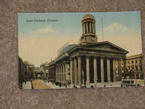 Royal Exchange, Glasgow, Scotland, Early 1900`s, unused