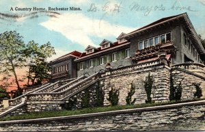 Minnesota Rochester A Country Home 1916