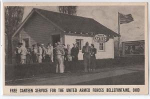 Canteen for Armed Forces, Bellefontaine OH