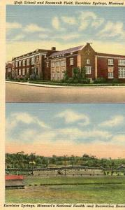 MO - Excelsior Springs, High School & Roosevelt Field
