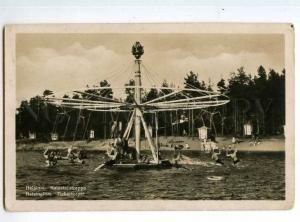 247260 FINLAND HELSINKI carousel roundabout at Sea children PC