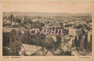 Old Postcard Soissons - g�n�rale View