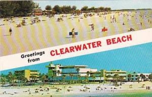 Florida Clearwater Greetings From Clearwater Beach