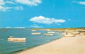 Dagsboro Delaware Tuckahore Acres Boats on Beach Vintage Postcard JF686639