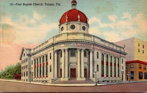 Florida Tampa First Baptist Church Curteich