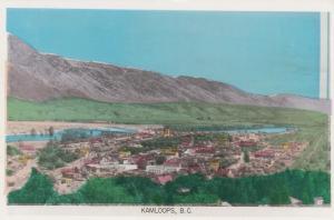 RP, Aerial View, KAMLOOPS, British Columbia, Canada, 1920-1940s