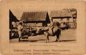 CPA INDONESIA Een Kijkje in de Kampong te Makassar (341633)