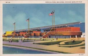 Chicago World's Fair 1933 Agricultural Building 1933 Curteich