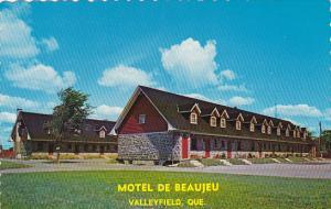 Motel De Beaujeu Valleyfield Quebec Canada