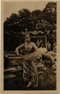 CPA ITA 1928 ARNHEM Indische Danseres INDONESIA (565931)