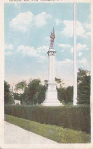 New Jersey Elizabeth Soldiers' Monument